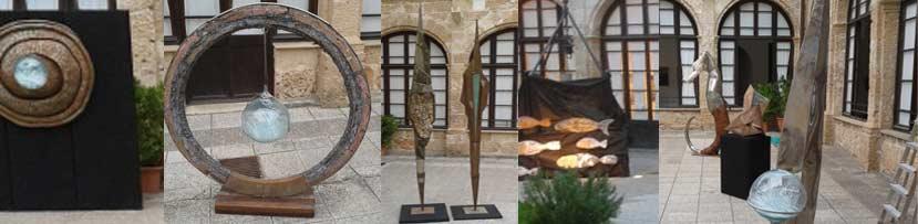 Esculturas Toni Mandilego